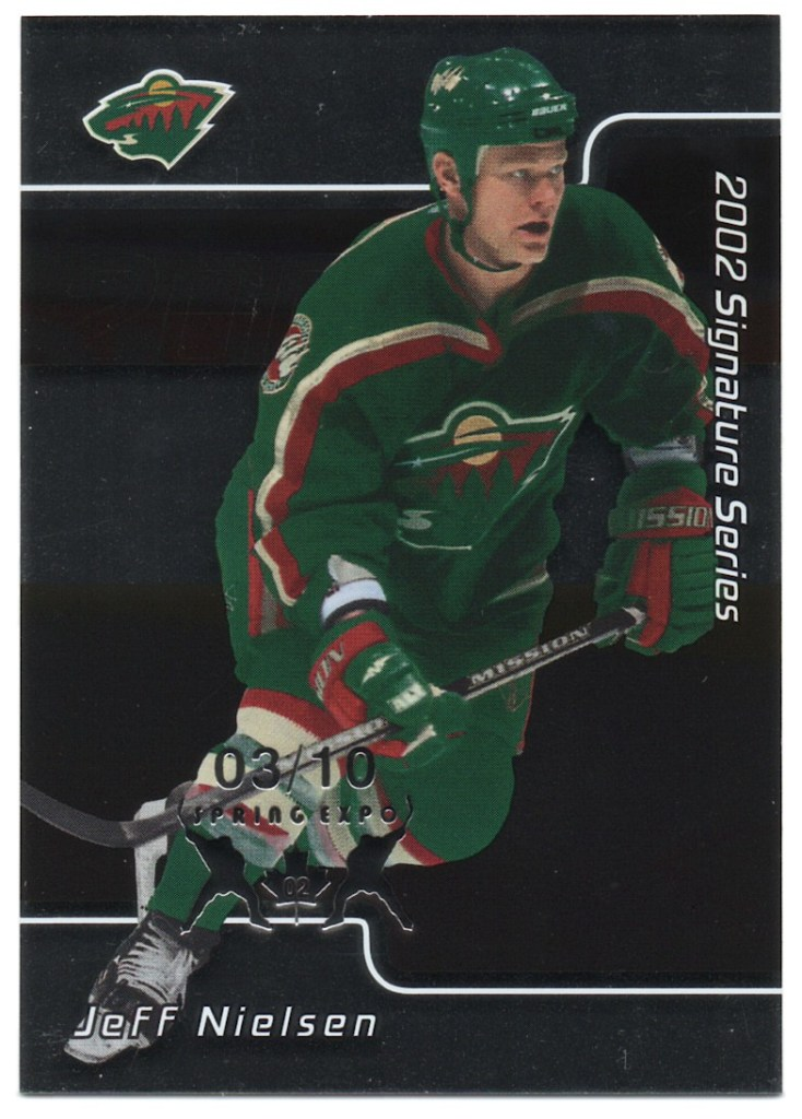 2001-02 In the Game Be A Player Signature Series Spring Expo #91 Jeff Nielsen /10