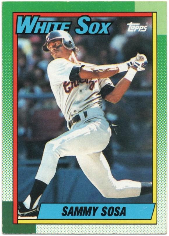 1990 Topps #692 Sammy Sosa