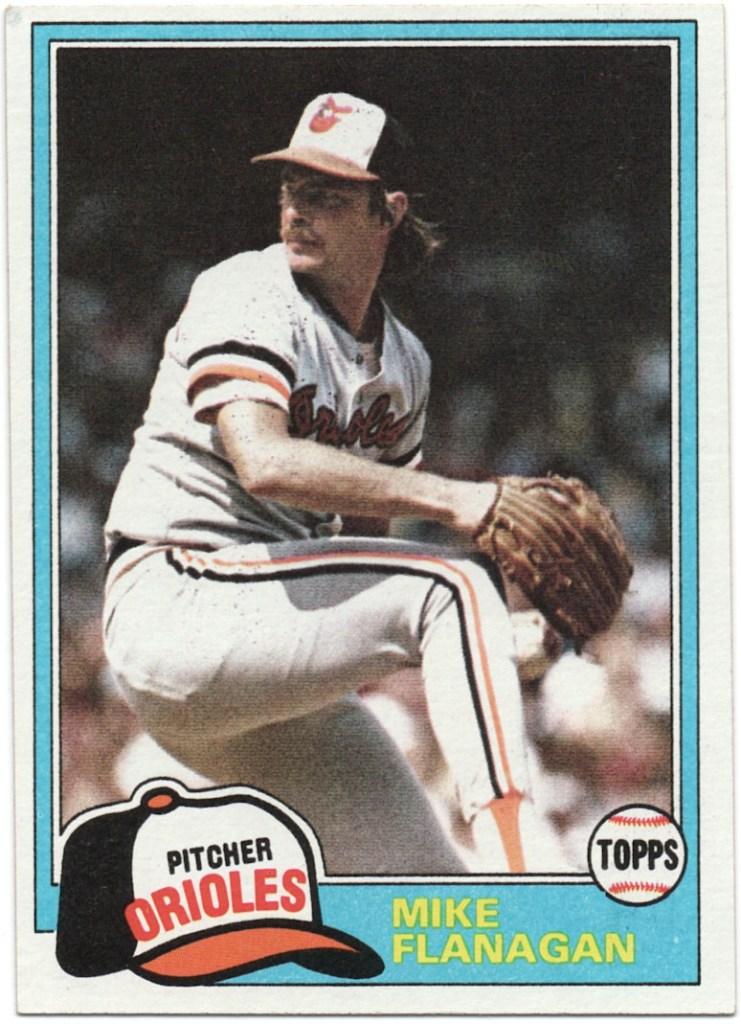1981 Topps #10 Mike Flanagan