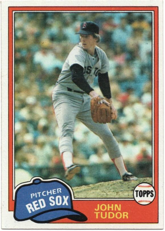1981 Topps #14 John Tudor
