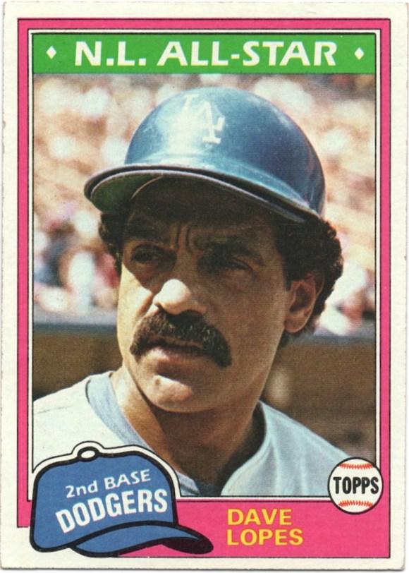 1981 Topps #50 Davey Lopes