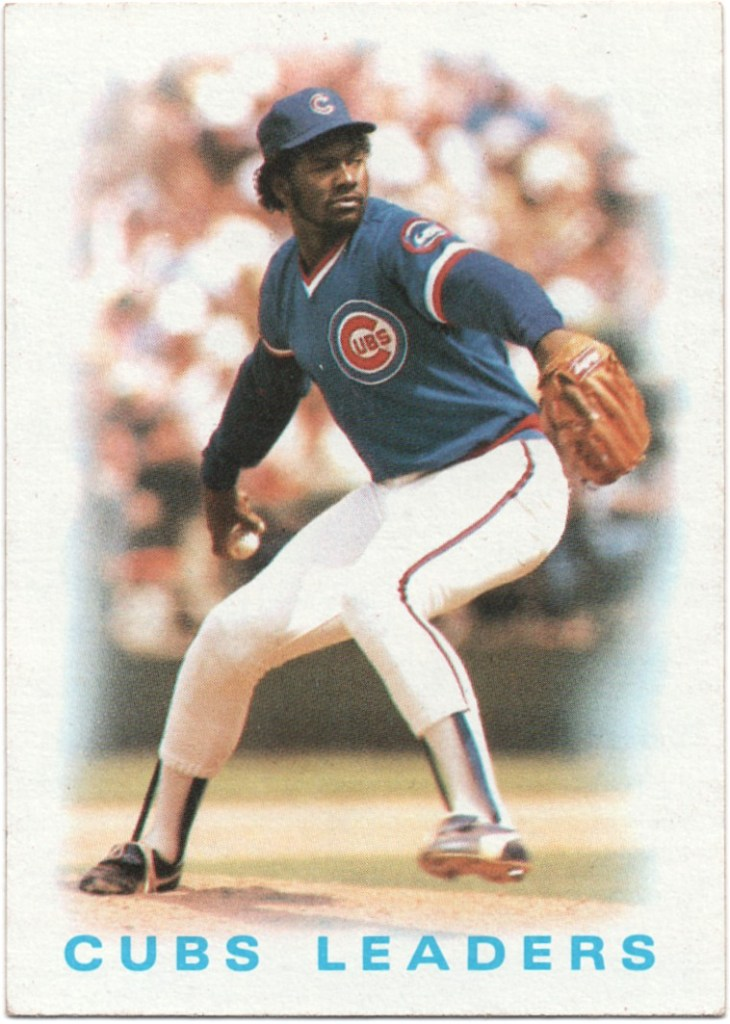 1986 Topps #636 Cubs Leaders: Lee Smith