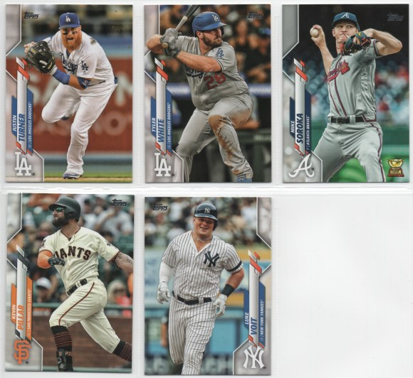 2020 Topps Set Needs