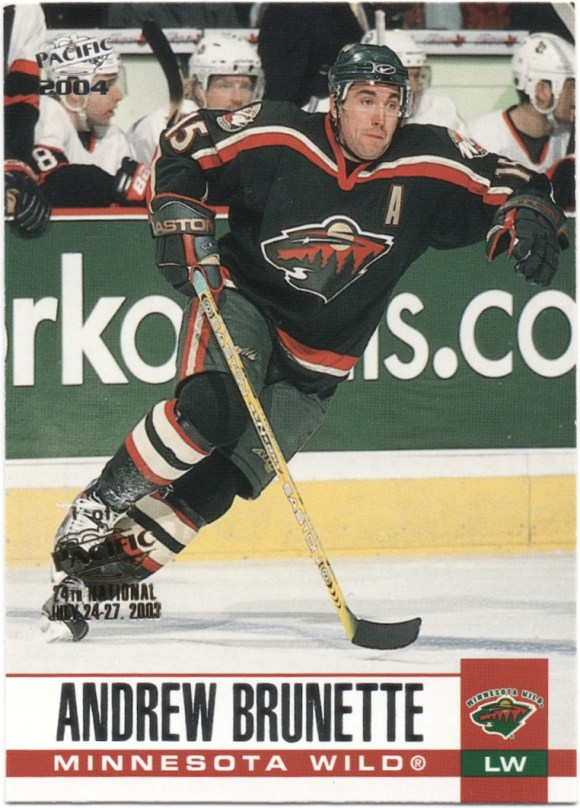 2003-04 Pacific - National Convention #162 Andrew Brunette /1