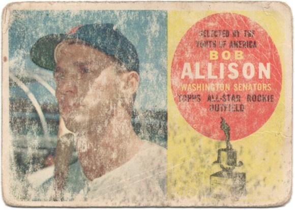 1960 Topps #320 Bob Allison