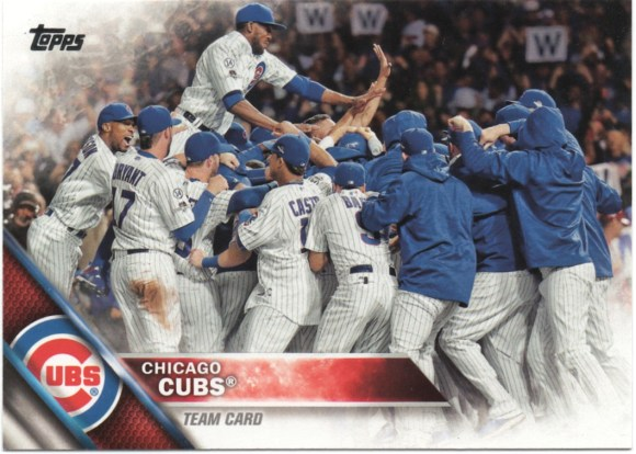 2016 Topps #474 Chicago Cubs