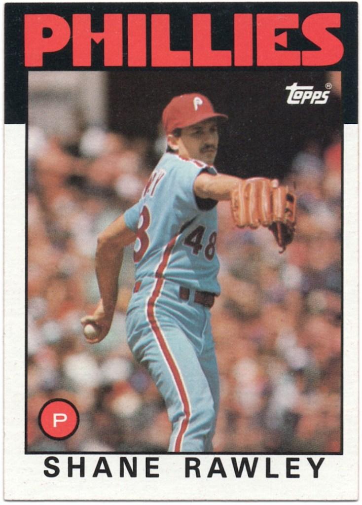 1986 Topps #361 Shane Rawly