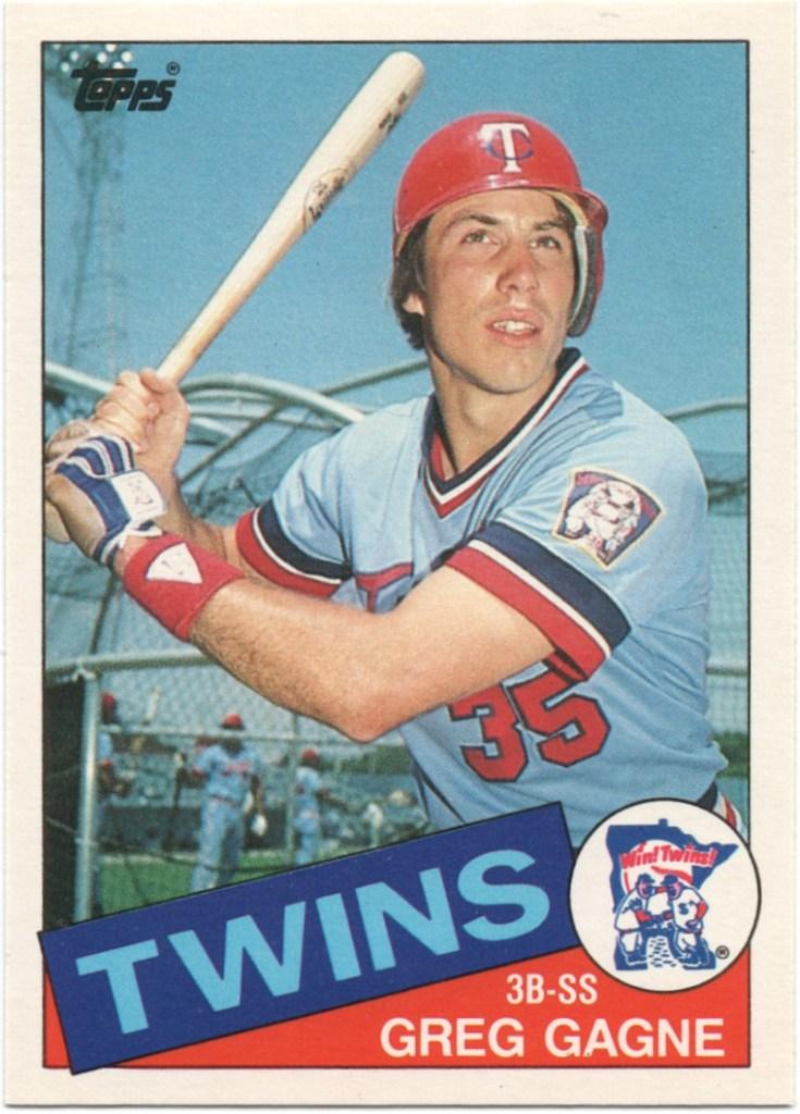 1985 Topps Traded #36T Greg Gagne
