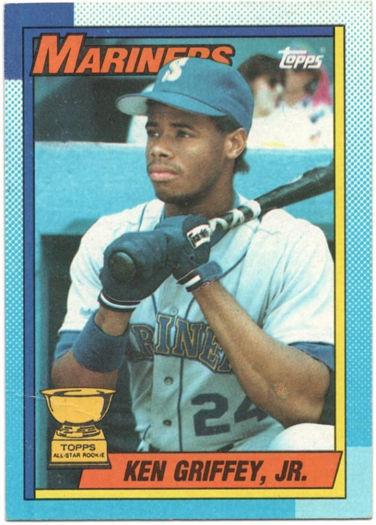 1990 Topps #336 Ken Griffey Jr.