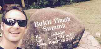 I Summited Bukit Timah Hill in Singapore
