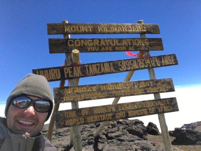 Kilimanjaro Day 6 Summit Day Selfie