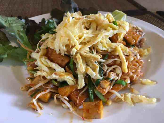 Pad Thai at Cool Breakfast Chiang Mai
