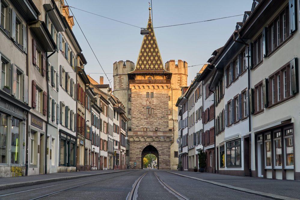 Basel und Region - Spalentor Basel   baselundregion.ch