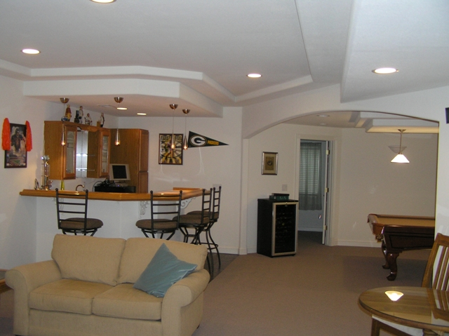 Ceiling Soffit Types Basement Finish Design