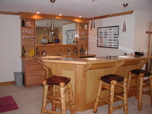 Basement Design Photo Gallery of finished basement designs USA
