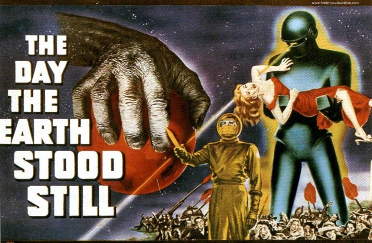 FILM BOOK OF FEAR: The Day The Earth Stood Still (1951)