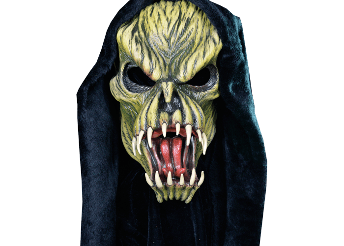 MONSTROUS MASK REVIEWS: Fang Face Version 2 by Trick or Treat Studios