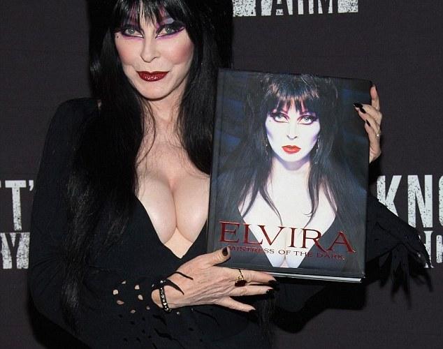 """THE BASEMENT BOOK SHELF: """"Elvira Mistress of the Dark"""""""