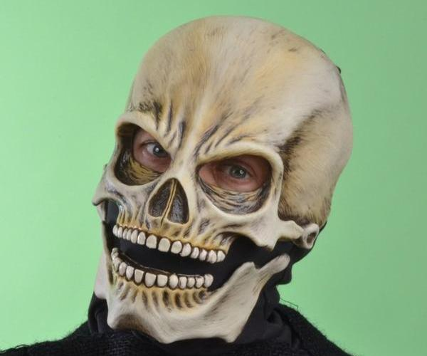 MONSTROUS MASK REVIEWS: Classic Sock Skull by Zagone Studios