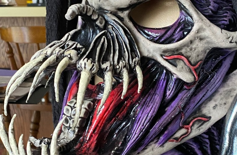 MONSTROUS MASK REVIEWS (SPECIAL EDITION): Unleashed Wickedness (Limited Edition) by Zagone Studios