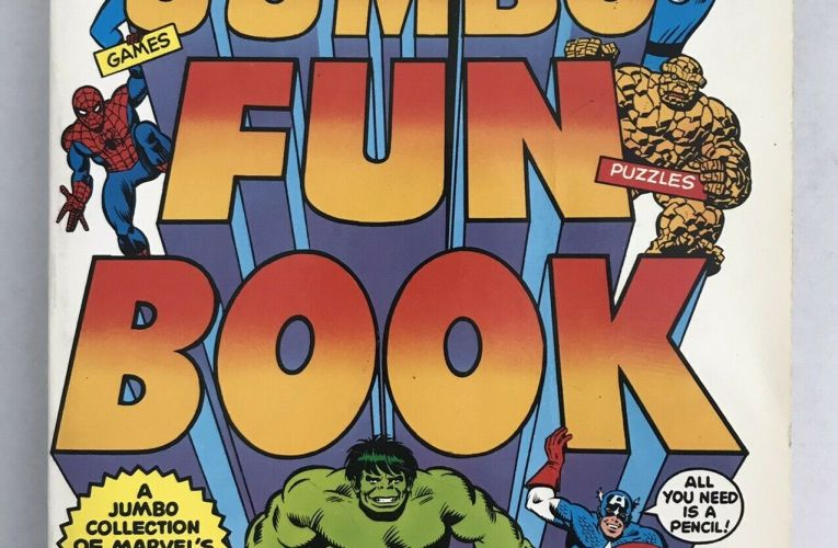 "THE BASEMENT BACK IN TIME: ""Mighty Marvel Jumbo Fun Book"""