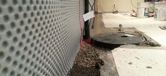 Interior Basement Waterproofing Basement Worx