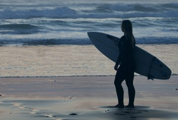 Base Surf Lodge Newquay Girl Surfer
