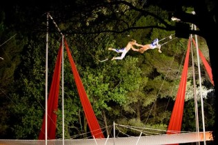 Club Med flying trapeze