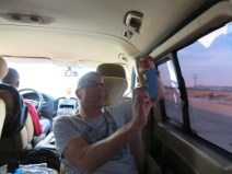 Zo zitten we in de bus