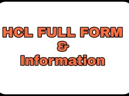HCL Information