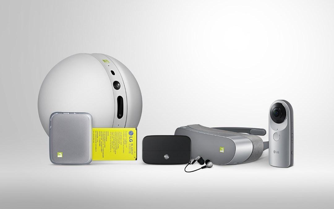 LG تعمل على توسيع منصة Friends لهواتف G5