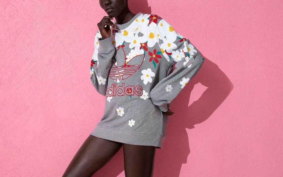 فاريل وليمز من أديداس: تشكيلةٌ ألبسة وأكسسوارات بحريّة باللّون الورديّ