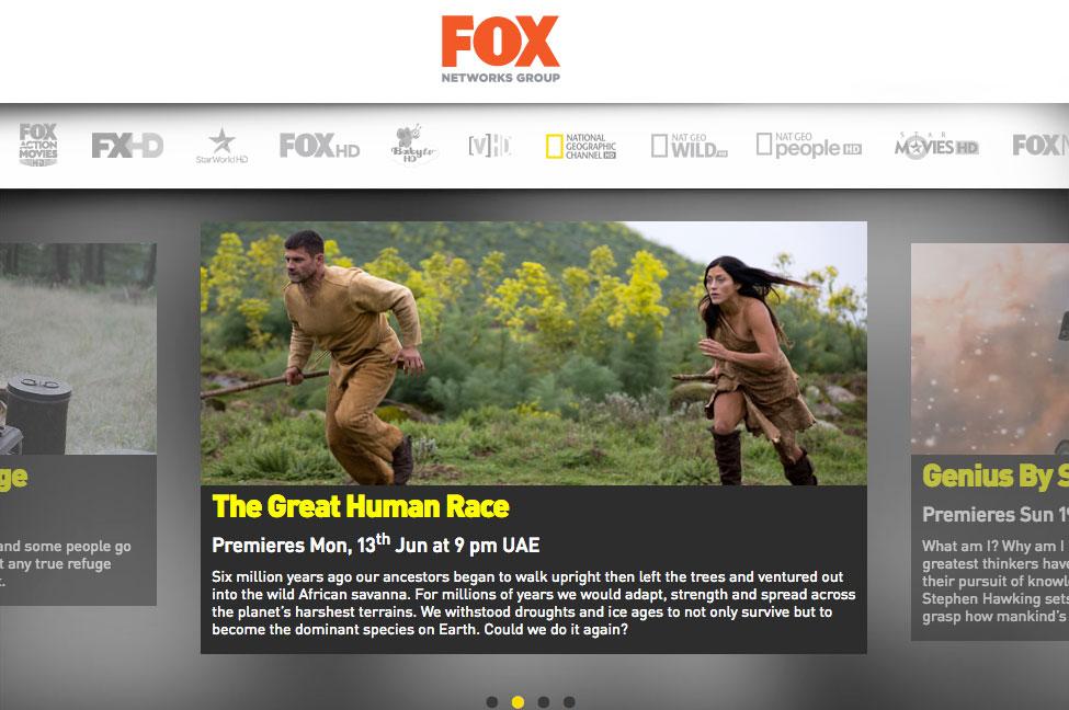 فوكس تختار اريكسون لخدمات البث في منطقة الشرق الأوسط