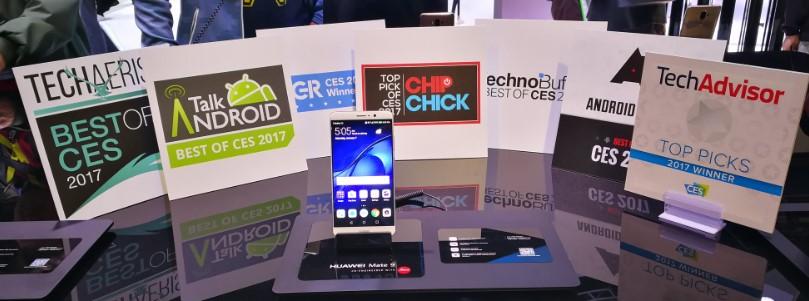 هاتف هواوي Mate 9 يفوز بثمانية جوائز