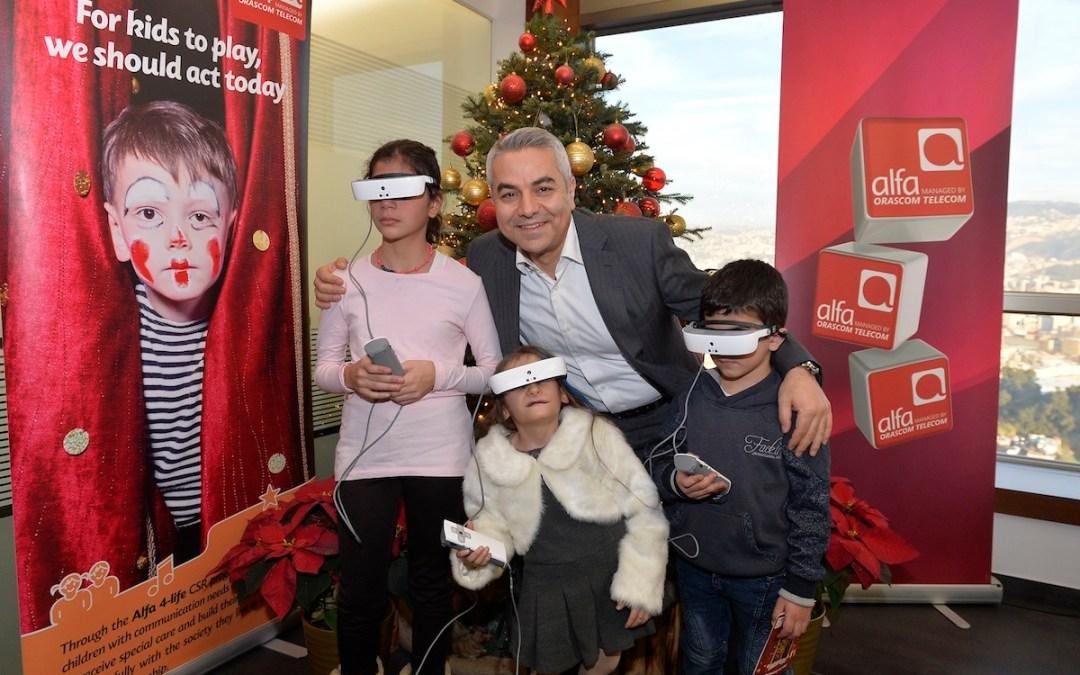 ثلاثة أطفال يستعيدون البصر بمبادرة من ألفا