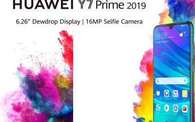 كل ما يجب ان تعرفه عن HUAWEI Y7 Prime 2019
