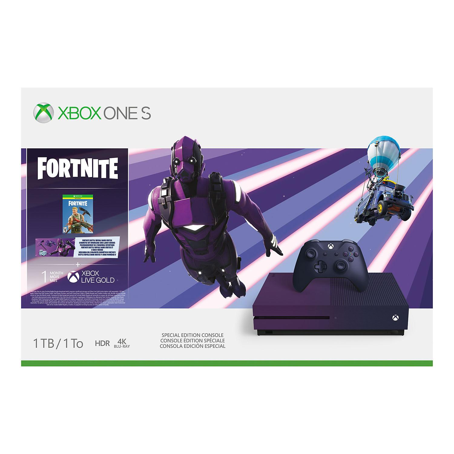 Microsoft Xbox One S Model Xbox One S 1tb Fortnite Bundle Basham S Fortnite xbox one community has 41,622 members. microsoft xbox one s model xbox one s 1tb fortnite bundle