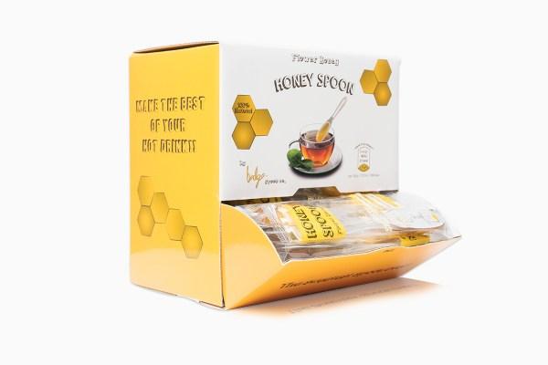 علبة ملاعق عسل الزهور الطبيعي 120 ملعقة 7 غرام من أفضل مزارع العسل التركية توصيل سريع من قصر الباشا إلى باب منزلك اطلب الآن.