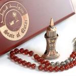مجموعة سبحة قطر من الفضة الأصلية الفاخرة ، توصيل سريع لكل دول العالم خلال ثلاثة إلى خمسة أيام عمل من قصر الباشا إلى باب منزلك اطلب الآن