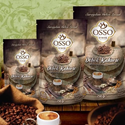قهوة الهاون التركية 200 غرام أوسو