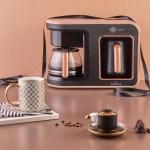 ماكينة قهوة كاراجا من Hatir Plus من قصر الباشا لتحضير أكواب القهوة ذات النكهة القوية والفريدة من نوعها لذوقكم الرفيع وللاستمتاع بوقتكم