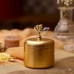 علبة هدايا نحاسية مطلية ذهب طبيعي بشكل مميز و فاخر و خامة ممتازة لإستخدامكم شحن سريع من قصر الباشا لباب منزلك اطلب الآن