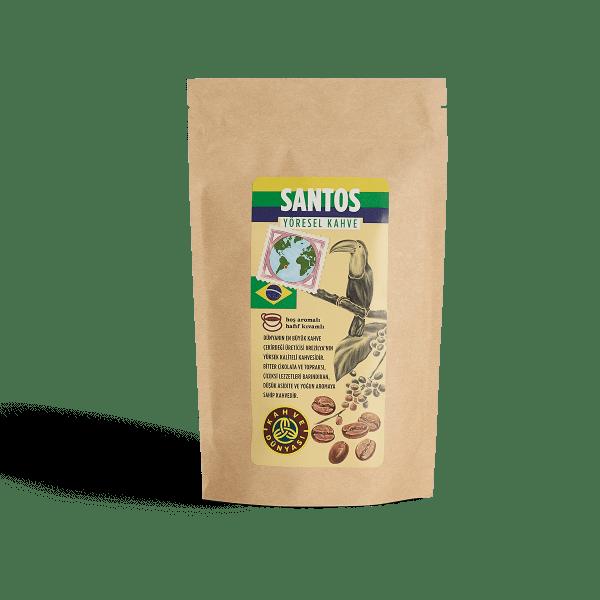 قهوة سانتوس البرازيلية 200 غرام قهوة دنياسي