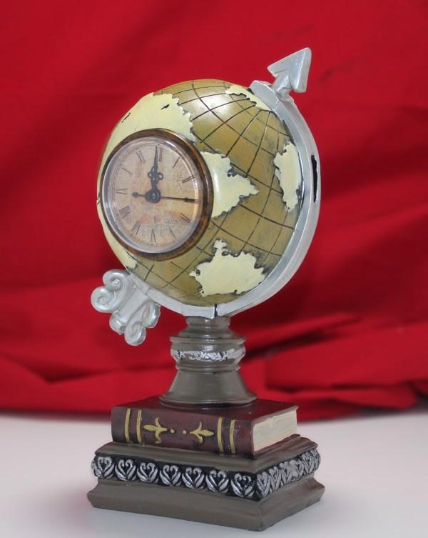ساعة مكتبية بخاصية حصالة نقود 2000 غرام