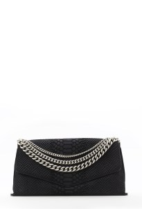 Collins Suede Clutch $295