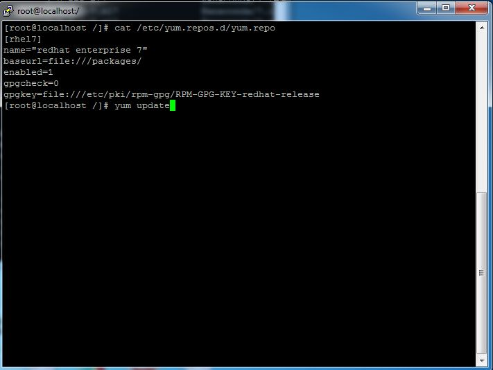 How to create YUM repository in Redhat/CentOS Linux 7