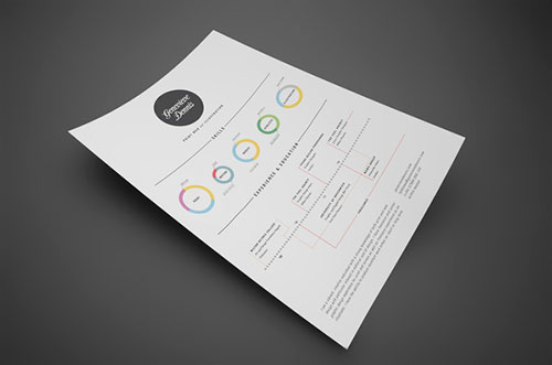 30 Great Examples Of Creative CV Resume Design Web