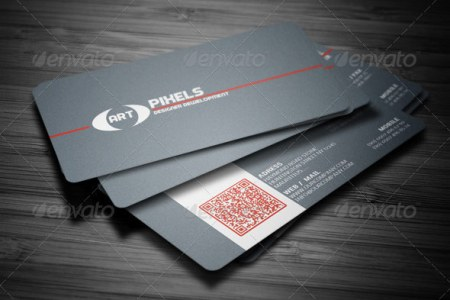 25 QR Code Business Card Templates   Web   Graphic Design   Bashooka qr code business card templates 25