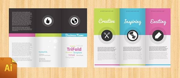 free psd indesign amp ai brochure templates web amp graphic design