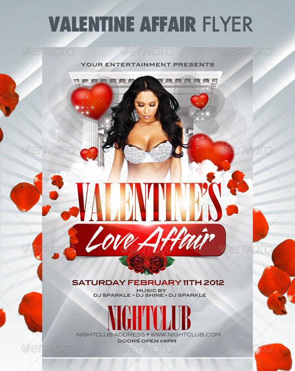 40 Sexy Valentines Flyer Templates Web Amp Graphic Design